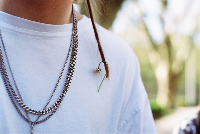 Dread EyeEm Selects Jewelry Necklace Close-up Focus On Foreground No People Chain Fashion Plant Hanging Textile Day Nature Outdoors Insect Invertebrate Personal Accessory Pattern Clothing