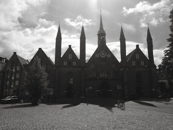 Heiligen Geist Hospital Lübeck Politics And Government City Cityscape Place Of Worship History Cultures Sky Architecture Building Exterior Cloud - Sky