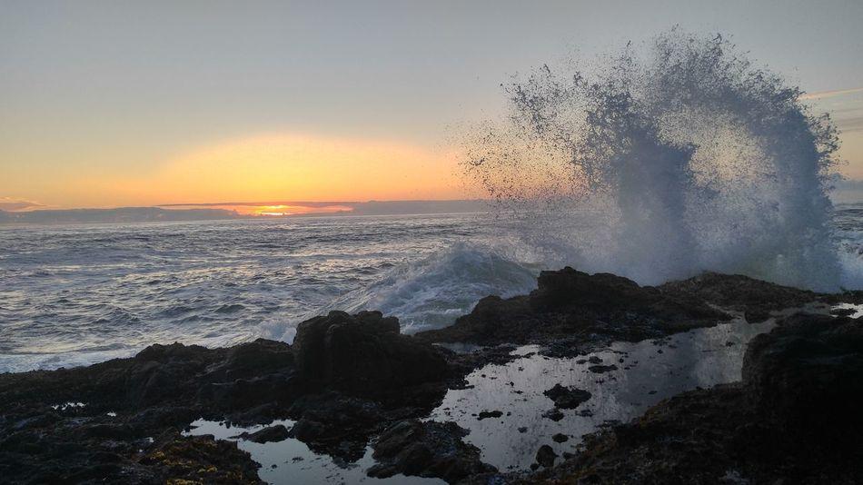 Cape Perpetua Oregon Pacific Sunset