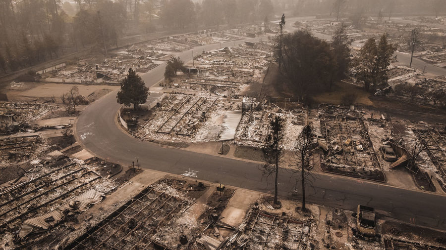 Forest fire destroys many people's lives after wildfire blows through oregon.