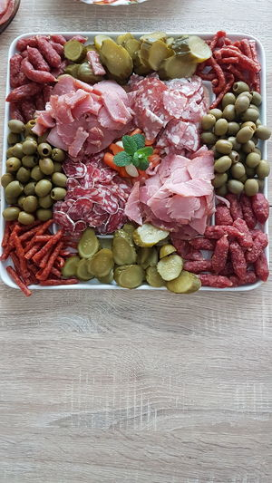 #delicious #fancy #Fresh #meat #pickle Close-up Food Freshness