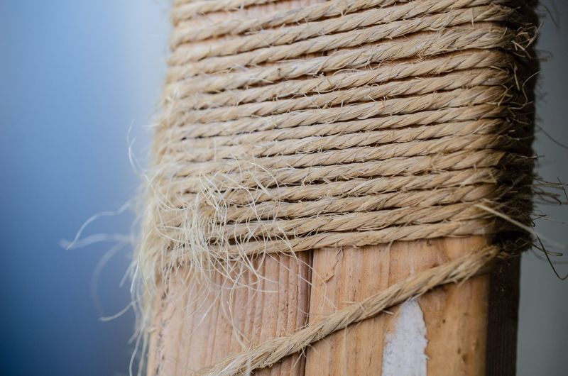 Spago Frayed Ravel Lace Wood Material Yuta Cord Twine String No People Close-up Wall - Building Feature Textile Textured  Pattern Day