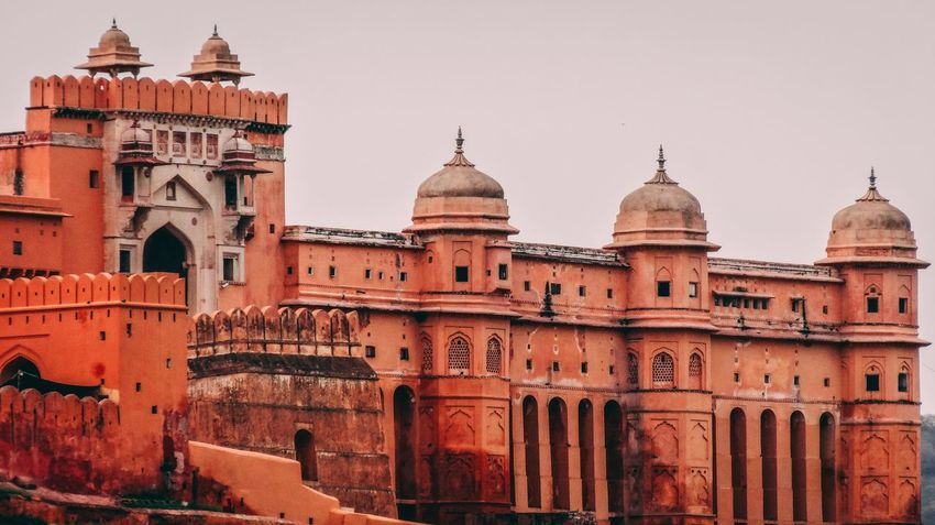 The royal fort Architecture Building Exterior Built Structure History The Past Travel Destinations Travel Tourism Spirituality Dome Place Of Worship Religion Clear Sky Sky Outdoors Ancient Belief Building No People Nature