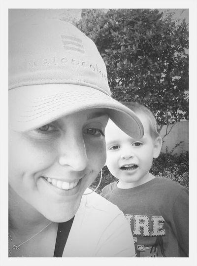 Family Matters loving walks with my bearcub
