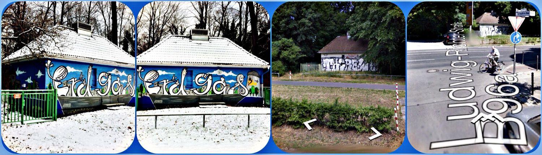 """""""Erdgas"""" • GGraffiti/ sStreet Art by """" 0815 -Industries""""( crew) ➡Am Treptower Parkrk (B96a) /Ludwig-Richter-Straße 1A, 12435 Berlin ➡️ http://goo.gl/maps/WCeLP"""