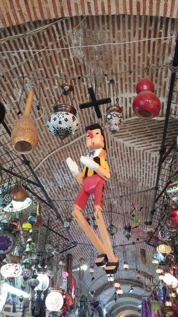 Pinocchio... Art Grand Bazaar Historical Building Underground Enjoying Life Taking Photos Relaxing Hello World Check This Out Minimalism