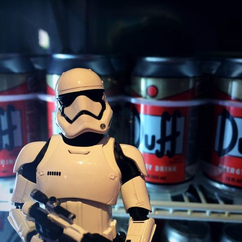 Taking care of kylo's secret selection TheSimpsons Duff Duff Beer Starwarstoys TheForceAwakens Toycommunity Toycrewbuddies Toyphotography Toysphotography Toyinstagram Toyphotographer LikeABOSS SHfiguarts