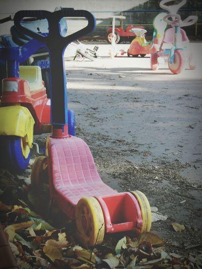 """/X\ la squola"". Playground Spielplatz Parco Giochi / Desolation 😉 / Walking In The Park Toys Giochi Point And Shoot Eyeemfilter"