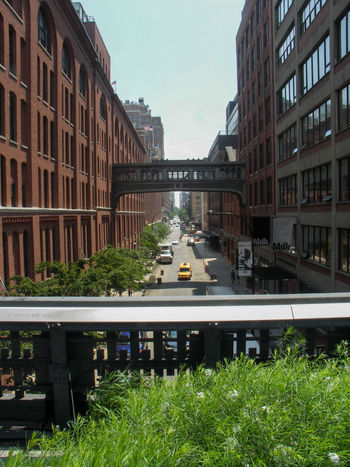 Chelsea Manhattan Architecture Building Exterior Built Structure Chelsea Market City Day Grass No People Outdoors Sky Transportation