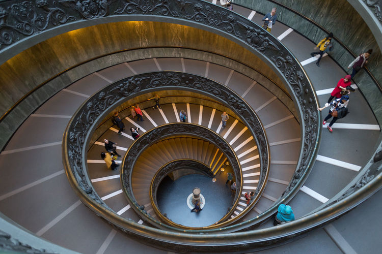 Vatican museum stairs Ancient Building Circle City Culture Design Detail Historical Building History Indoors  Italy Ornate Pattern Repetition Roma Roman Rome Spiral Spiral Staircase Staircase Steps Steps And Staircases Vatican