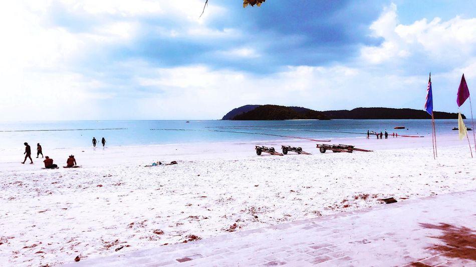 Langkawi Island 🌴 Landscape Beach Horizon Over Water Cloud - Sky Tranquil Scene Outdoors Langkawi