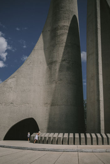 Architecture Architecture_collection Memorial Nikon South Africa Arch Architecture Building Exterior Built Structure Concrete Day History Low Angle View Memoria Monument Outdoors Sky Travel Travel Destinations