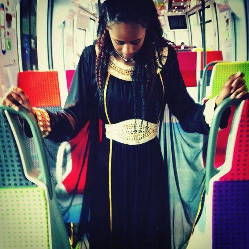 Évasion Littlesister Abayaa Street Fashion Train