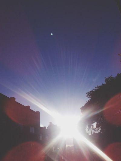 Summer Sunshine Sunset Bogotá
