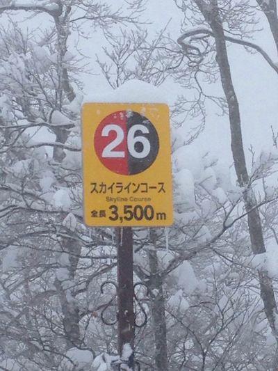 野沢温泉スキー場に行って見た。 Blues 野沢温泉スキー場