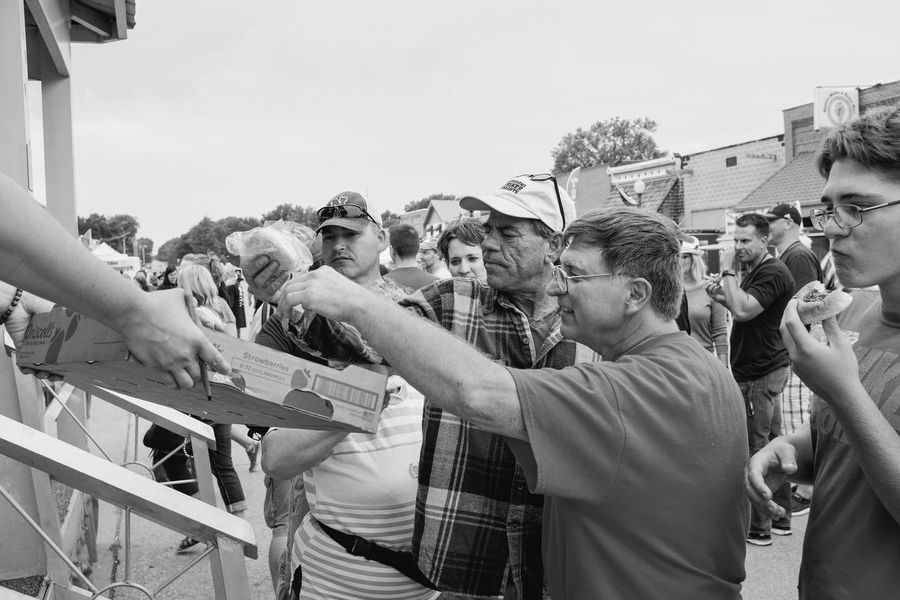 56th Annual National Czech Festival - Saturday August 5, 2017 Wilber, Nebraska Americans Camera Work EventPhotography FUJIFILM X100S Free Food  Main Street USA Nebraska Photo Essay Small Town America Visual Journal Wilber, Nebraska Adult Adults Only Building Exterior Crowd Culture And Tradition Czech Days Czech Festival Day Fan - Enthusiast Kolace Eating Contest Kolace Large Group Of People Men Outdoors Parade People Photo Diary Politics Protestor Real People Sky Standing Street Photography Streetphoto_bw Streetphotography Women Young Adult