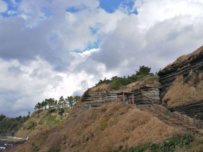 JEJU ISLAND  Korea Tuff Cloud - Sky Nature Landscape Mountain No People Outdoors Sky
