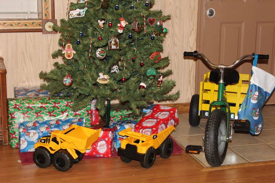 Christmas Tree Christmastime Presents Santa MerryChristmas