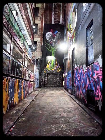 makeover in Hosier Lane for All Your Walls Graffiti & Streetart