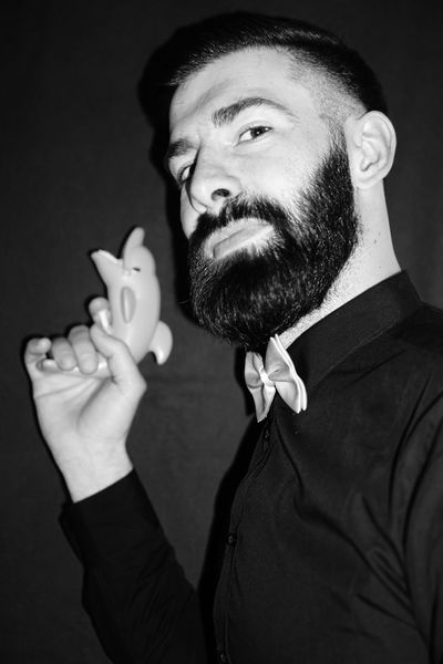 The Boss Beard Real People Human Hand Studio Shot Lifestyles One Person Black Background Men Close-up Human Body Part Faces Of EyeEm Portrait Photography Real Photography Water Gun Dolphin Fashion Portrait PortraitPhotography Looking At Camera Look Only Men Monochrome Blackandwhite Blackandwhite Photography Fashion Photography