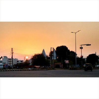Gurgaon evening......