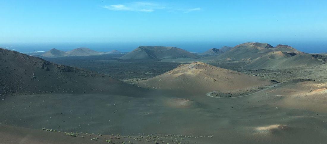Lanzarote Nationalpark Vulcano Craters Desert