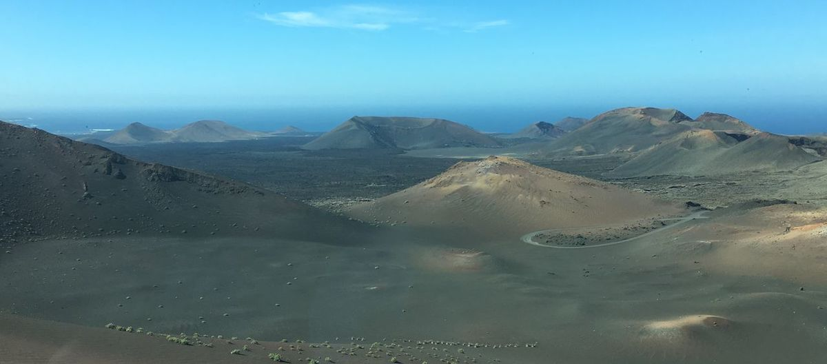 Lanzarote Nationalpark Vulcano Craters Desert