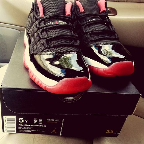 My new babies. House Of Hoops! Bred 11's  Enjoying Life