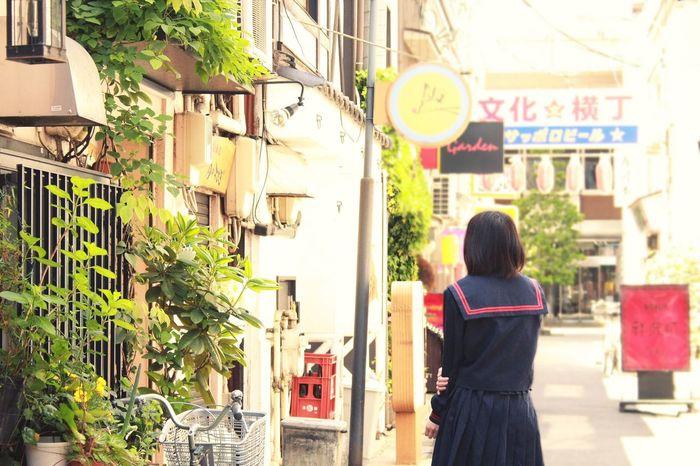 Japan Cute Girl Japanese  Model Portrait Sailor セーラー服