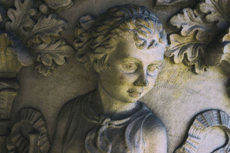 Close-up of bas-relief sculptures at Martin-Gropius building in Berlin, Germany Bas-relief Berlin Close-up Color Image Creativity Day Germany🇩🇪 Horizontal Human Representation Indoors  Martin-gropius-bau No People Outdoors Photography Sculpture Spirituality Statue