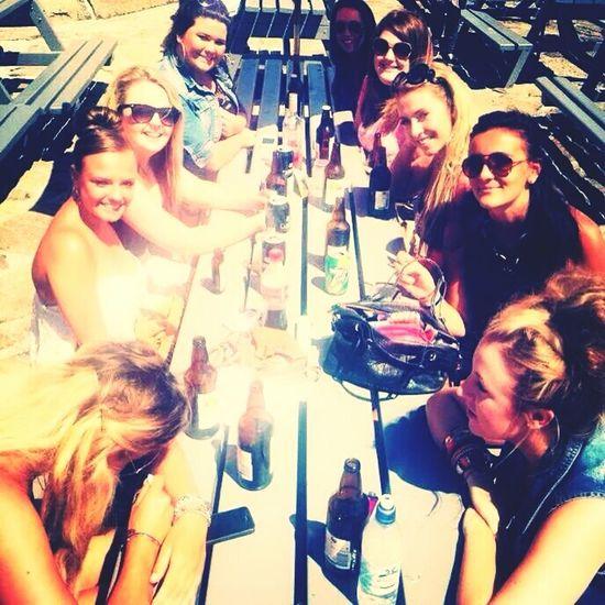 Bestfriends Girls Summer Drinks Rekorderlig Sunglasses Beach Happy 😍👯🍹