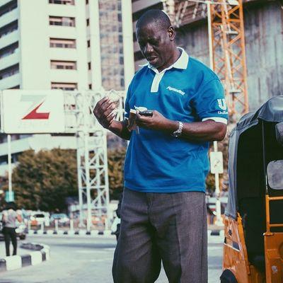 Looks like a good start to the week! Lagos Nigeria Vscocam Streetphotography africa zenithbank unilever naira money