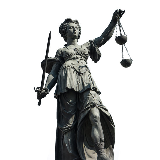 the Lady Justice Statue isolated on white background Court Crime Guilty Innocence Isolated White Background Album Iustitia Jury Justitia Lady Justice Lawyer Liberty Scale  Statue Balance Courthouse Courtroom Gavel Isolated White Background Judge Judgment Judicial Law No People Sculpture Symbol
