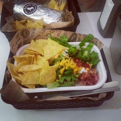 Ma dözsölés van :) Hatalmas burrito tál...