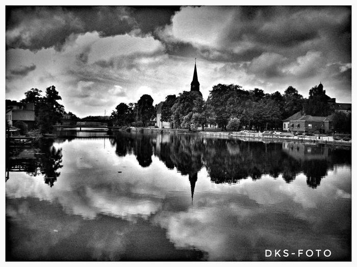 Sweden The True Story Eskilstuna-streetphotography Water Lake Reflection Sky Architecture Building Exterior Cloud - Sky Built Structure