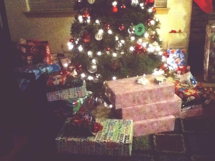 The Christmas presents so far