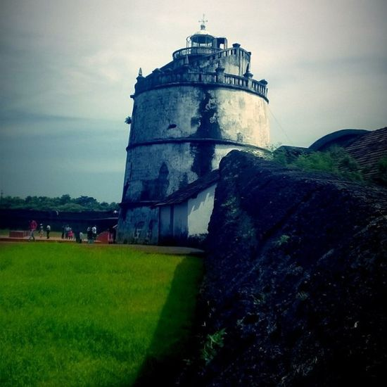 Throwback Aguada_Fort Lumia520 Clouds Historicalplace Oldlighthouse Goa