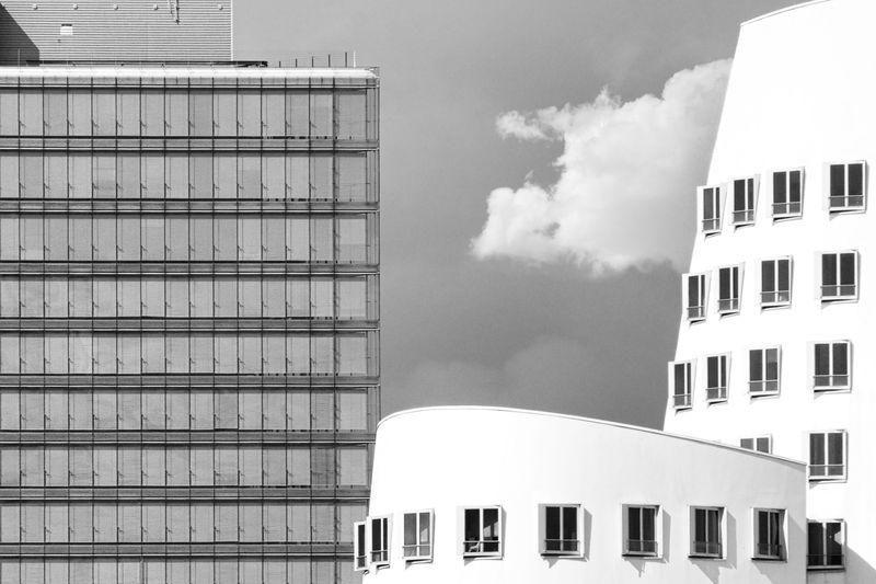 Modern architecture in düsseldorf