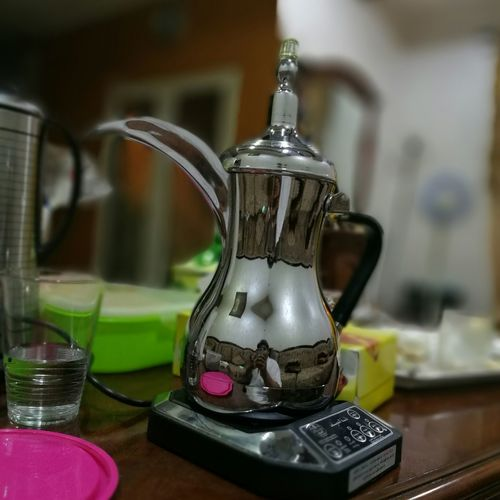 Digital arabic coffee