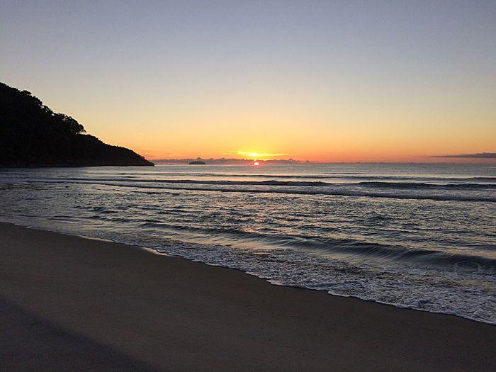 Beauty In Nature Sunrise Brasilianbeach Brasil Ubatuba