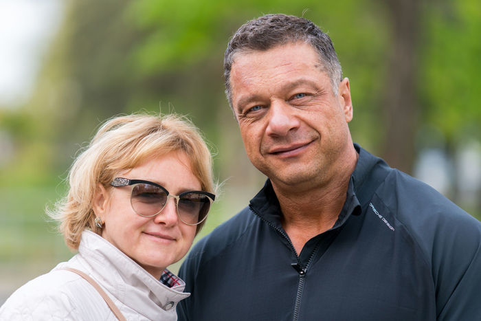 Adult Bonding Day Eyeglasses  Happiness Headshot Lifestyles Looking At Camera Love Mature Adult Mature Couple Mature Men Mature Women Men Outdoors People Portrait Real People Smiling Togetherness Two People