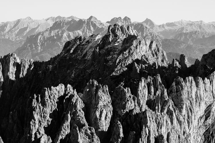 Mountains in 4k Mountain Nature Beauty In Nature Rock - Object Mountain Range Scenics Physical Geography No People Outdoors Landscape Clear Sky