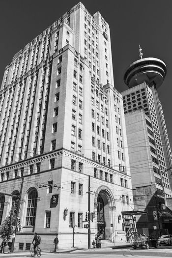 RBC Architecture Downtown Harbour Centre Lookout RBC Vancouver British Columbia Building Canada