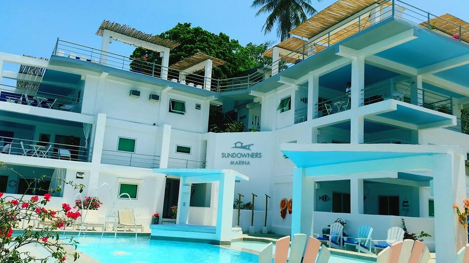 Swimming Pool Architecture Water Building Exterior Summer Built Structure Tree Vacations Outdoors Luxury Modern Day Sky Sundowner Pangasinan, Philippines Bolinao, Pangasinan