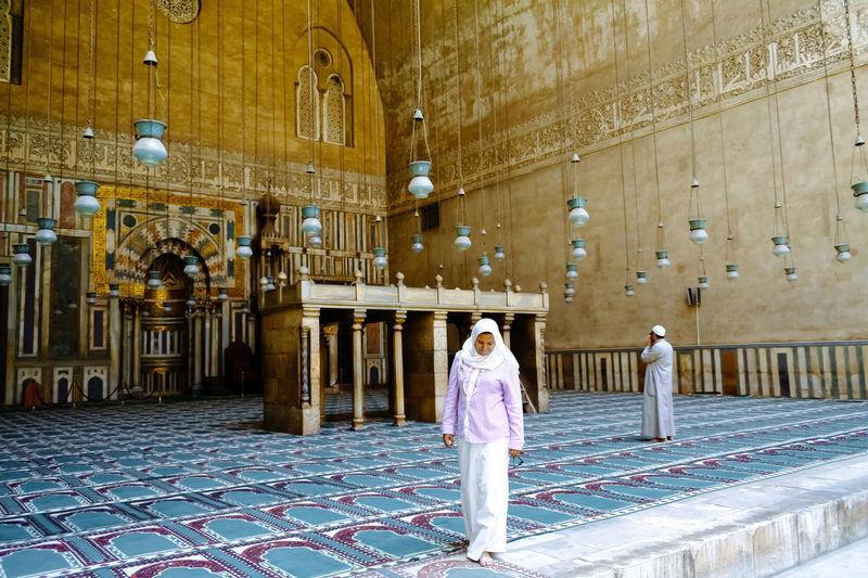 Mosque-Madrassa of Sultan Hassan Cairo Egypt Egyptian Hassan Interior Islam Islamic Architecture Island Madrassa Mosque Muslim Religion Sultan Travel
