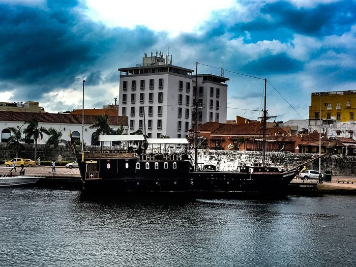 Architecture Building Exterior Built Structure Cloud - Sky Sky Nautical Vessel Water Transportation Waterfront Day Travel Destinations Outdoors Large Group Of People City People