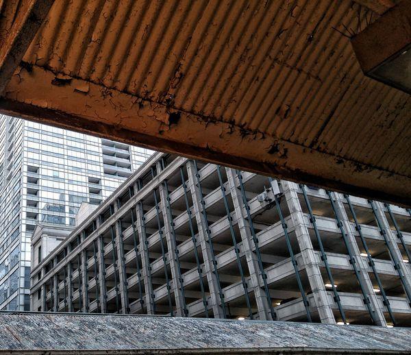 Roof Corrugated Iron CTA Chicago