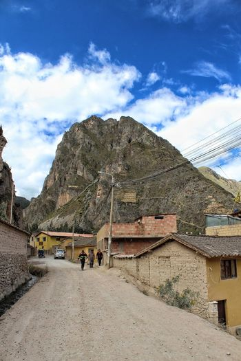 Village of Ollantaytambo Travel Destinations Travel Landscape Mountain Sky Architecture Cloud - Sky