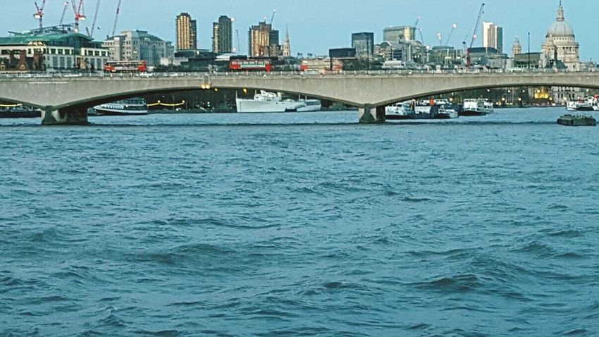 Thames Water River The Thames River Thames Bridge Under The Bridge Skyline City London
