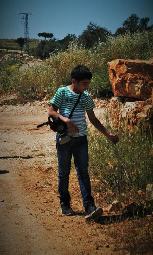 Teargas Gasmask Nature Peaceful Palestine Salam.